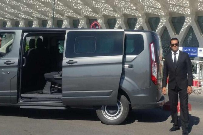 Private Departure Transfer from Marrakech to Casablanca Airport
