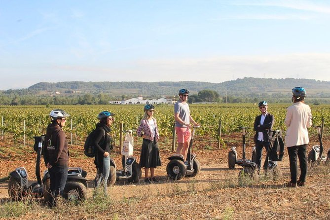 Barcelona Montserrat and Segway Winery Private Tour with Wine and Cava Tasting