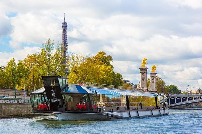 Paris Seine River Lunch Cruise