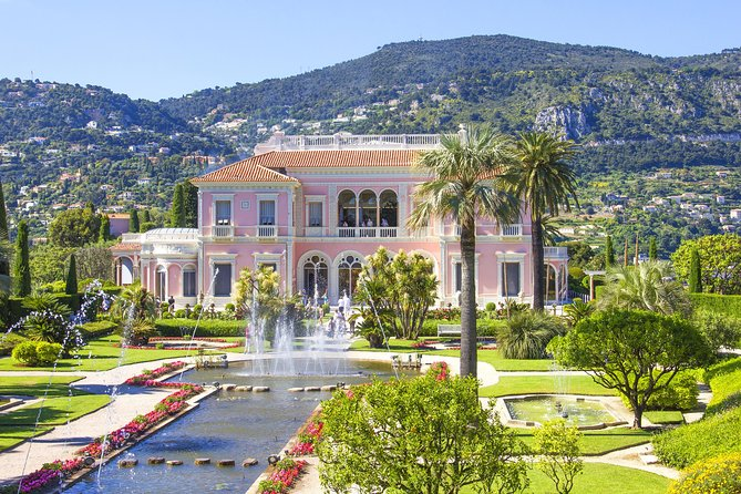 Eze, Monaco, Cap Ferrat including Villa Rothschild and Gourmet Break