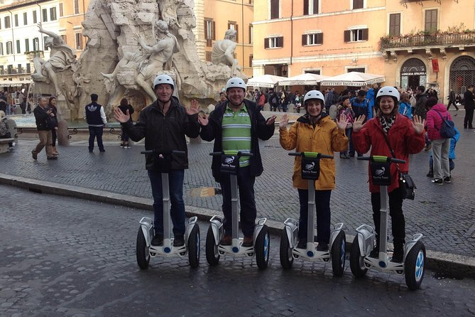 Glory of Rome - Afternoon 4 hour Segway Tour