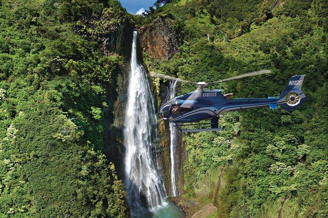 オアフ発カウアイ島を陸と空から巡る、ヘリコプター遊覧付きコンボツアー