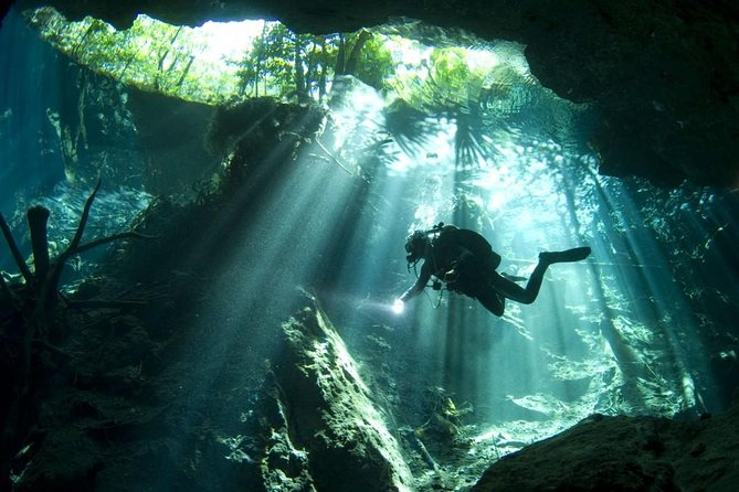 Mini Cenotes 2-Day Scuba Diving Package in the Riviera Maya