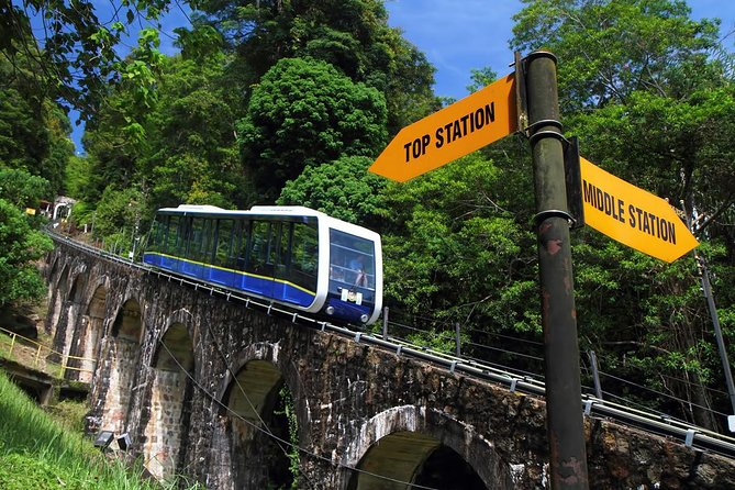 Penang City Tour with Penang Hill (Fast Lane)