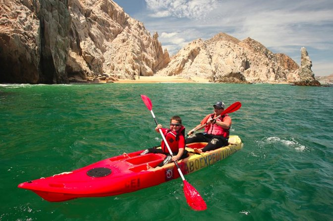 Clear Bottom Kayak and Snorkel Discovery Tour in Los Cabos photo 1