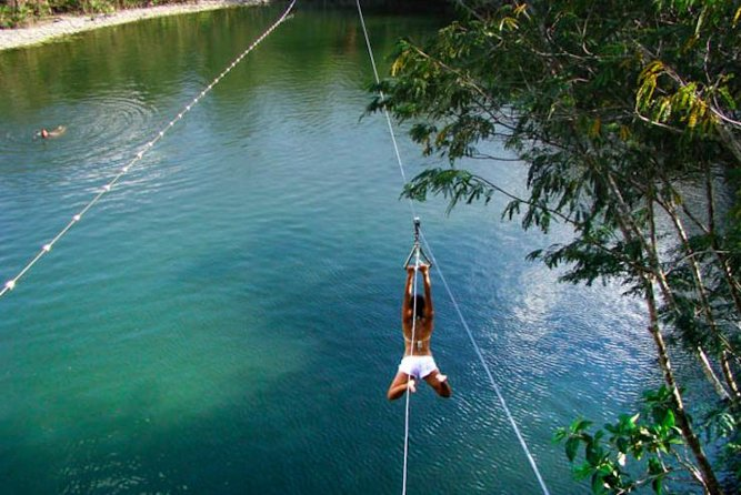 Ziplining and Cenote Tour from Cancun