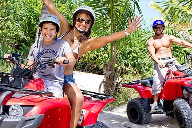 Outdoor Combo Tour: ATV with Waverunner or Speedboat