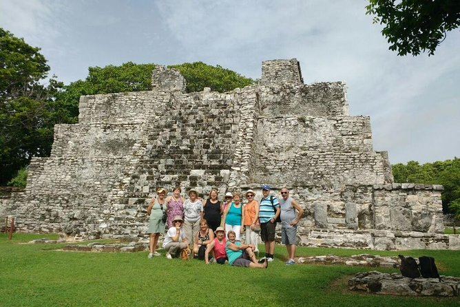 Cancun City and Shopping Tour Including El Meco Ruins