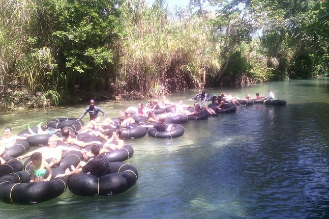 Dunn's River Falls and White River Tubing Combo Tour from Ocho Rios