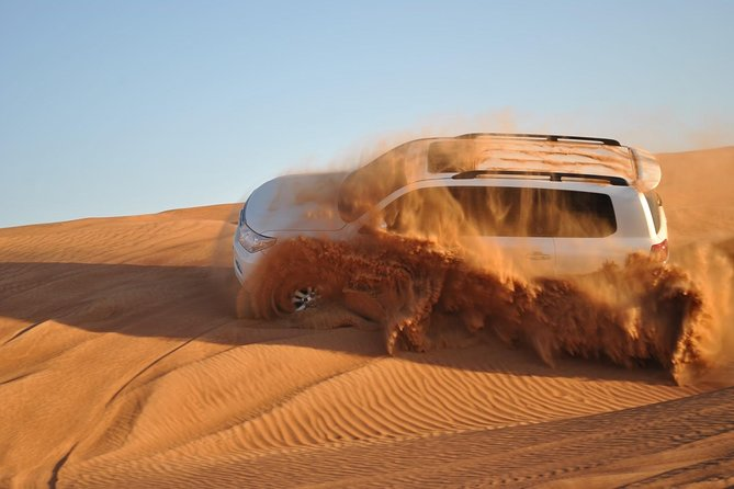 Private Full-Day Tour to Aquaventure, The Palm and a Desert Safari Adventure Including Buffet Lunch and Dinner