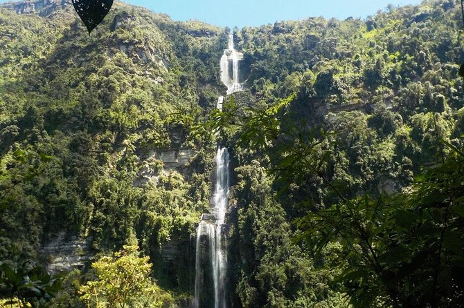 Private Tour to the Nature Waterfall of La Chorrera from Bogotá