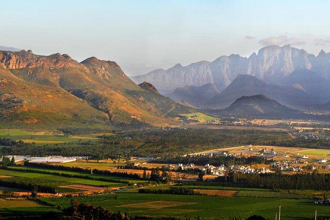 Viagem para degustação de vinhos de um dia para Stellenbosch, Franschhoek e Paarl Valley