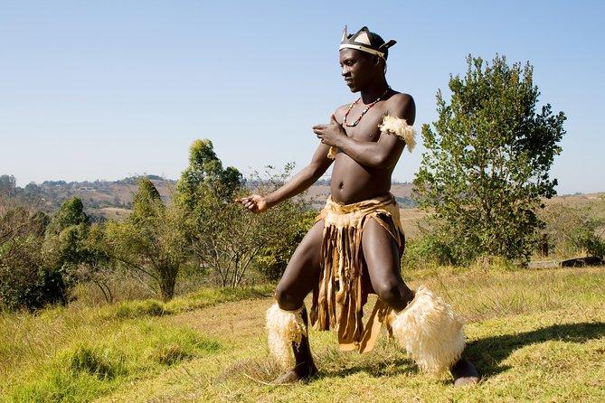 Shakaland African Zulu Dancer