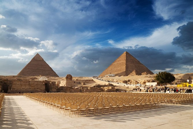 Full Day Pyramid Complex Egyptian Museum And Cairo City Tour From Hurghada By Coach 2021