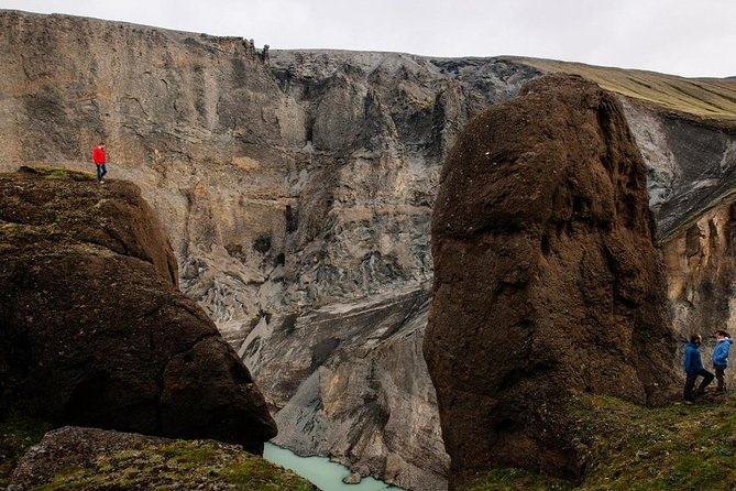 Half-Day Canyon and Hot Spring Tour from Laugarfell