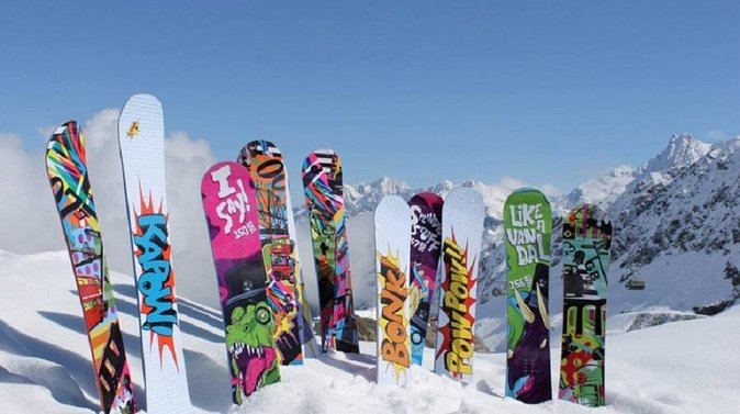 Big Sky Premium Snowboard Rental Including Delivery