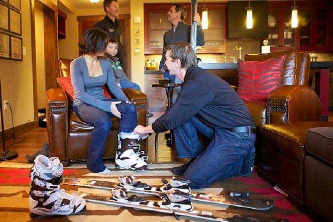 Ski technicians offer delivery and in-room fittings