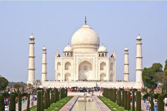 Tour Privado: Viagem de um dia ao Taj Mahal saindo de Delhi