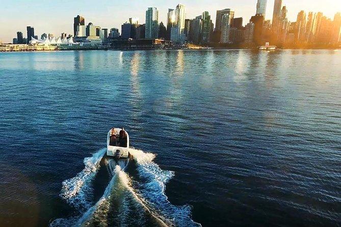 Aluguel de barcos em Vancouver para até 5 pessoas
