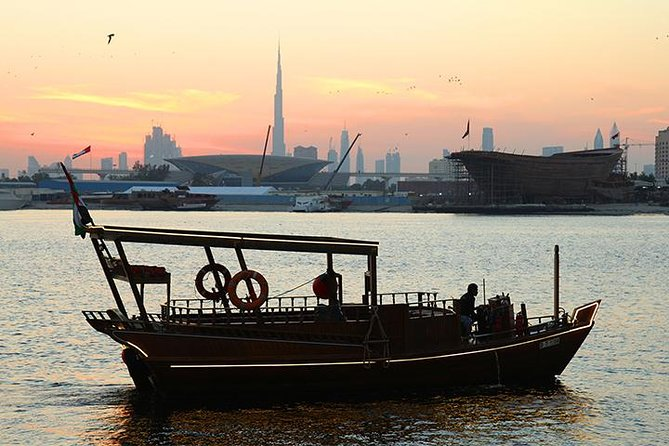Sun Set Abra (wooden boat) Ride with Emirati High Tea