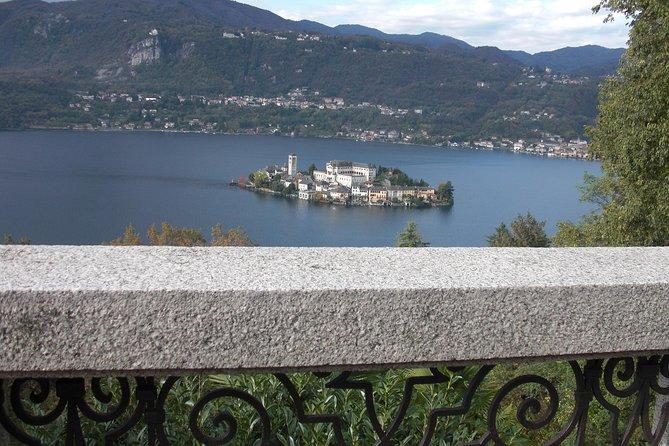 The island of San Giulio lake Orta