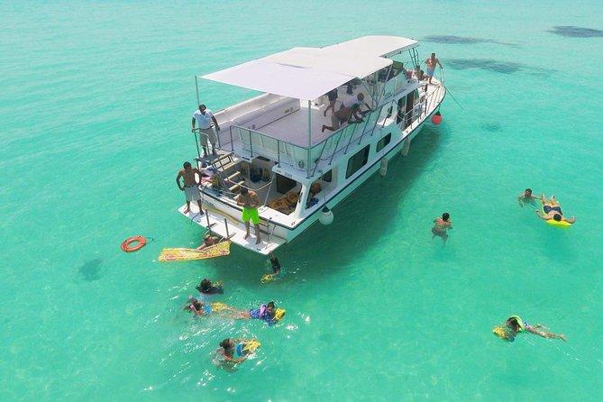 Isla MujeresシュノーケリングとPlaya Norte