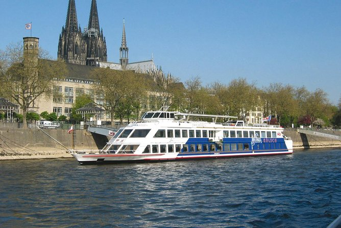 Cologne: 1-hour Rhine River Panorama Cruise