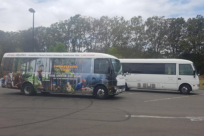 Gold Coast Airport Shared Arrival Shuttle Service with Wheelchair Access