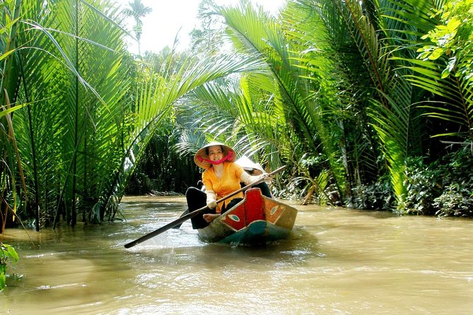 Mekong Delta Floating Market Day Trip with Traditional Cooking Class