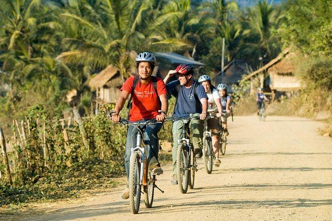 Biking & kayaking Luang Prabang