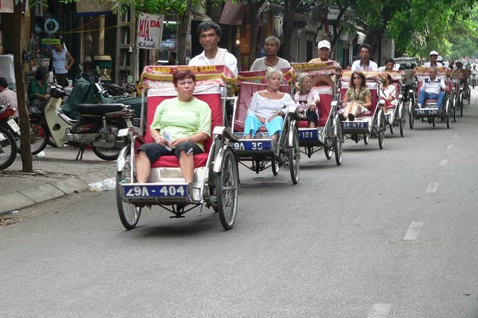 Afternoon Hanoi City tour with Cyclo ride at old quarter
