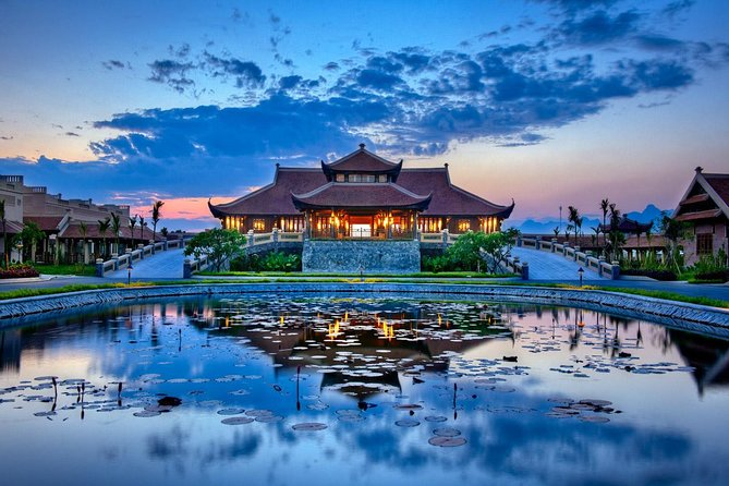 2 days Emeralda resort Ninh Binh and hot spring tour