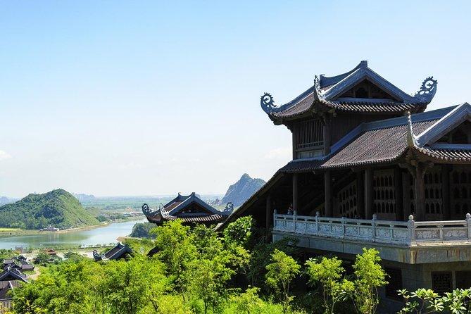 2 days Bai Dinh pagoda - Trang An - Tam Coc - Bich Dong pagoda and Hoalu temple tour