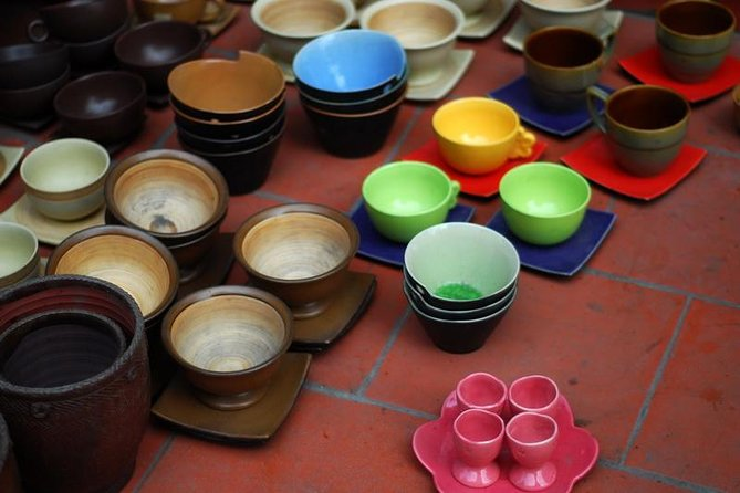 Bat Trang and Le Mat Traditional Village Tour from Hanoi