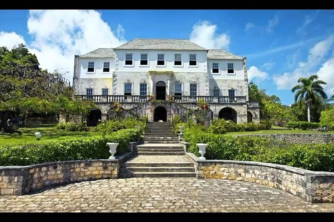 Shopping in Mo Bay with Rose Hall Great House (From Negril)
