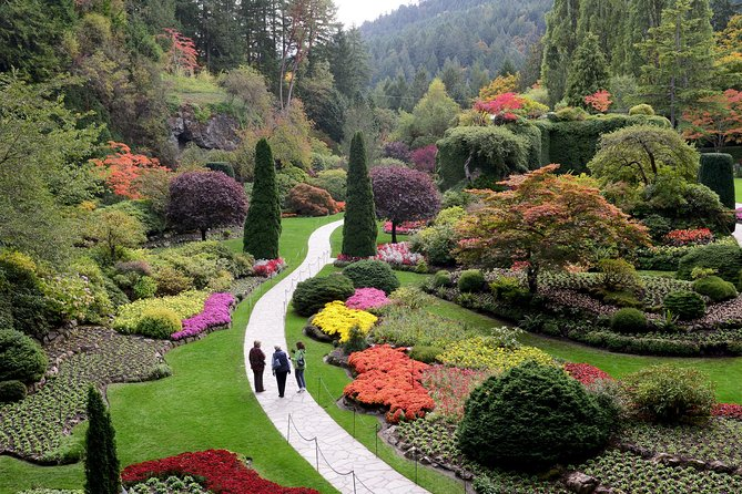 Butchart Gardens Shuttle from Victoria Hotels & Entry Ticket