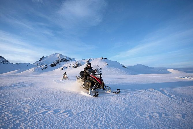 Golden Circle & Glacier Snowmobiling Day Trip from Reykjavik