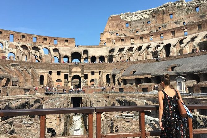 Colosseum Arena Floor Tour with Roman Forum
