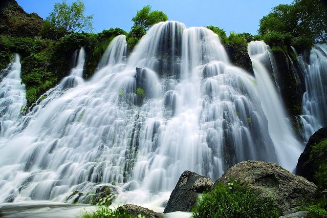 Tatev, Noravank and Shaki waterfall