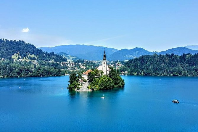 Visite privée: Lac Bled et Ljubljana de Koper