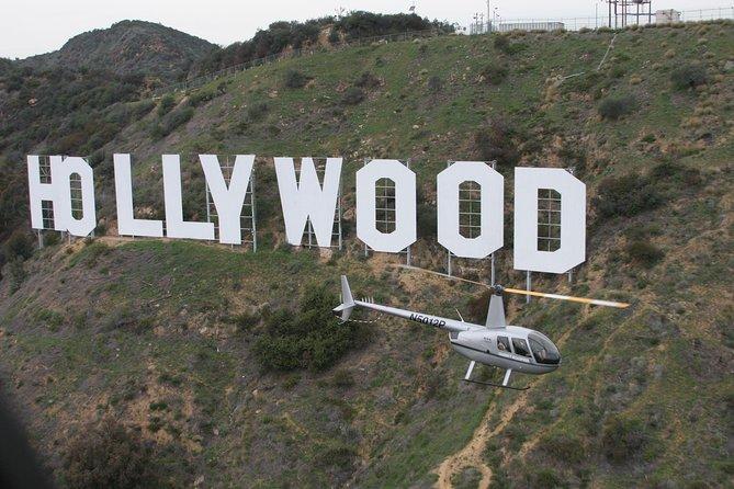 Excursión por la costa de Los Ángeles: recorrido en helicóptero al estilo de Hollywood anterior o posterior al crucero