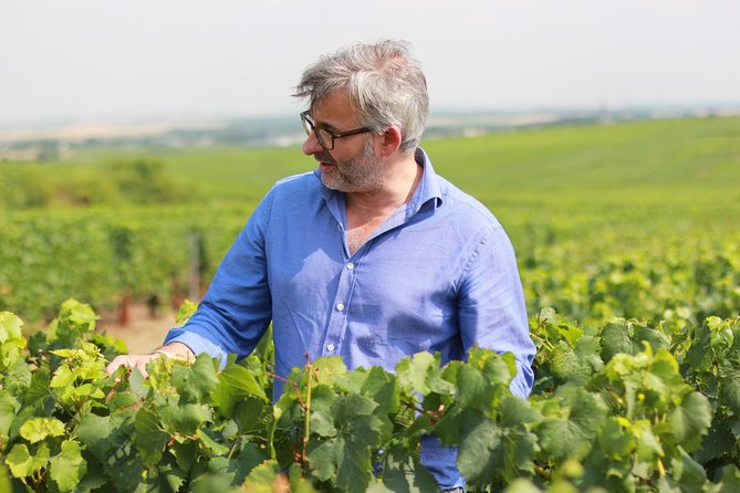 From Paris: VIP Champagne Private Day Trip guided by Local Vineyard Owner