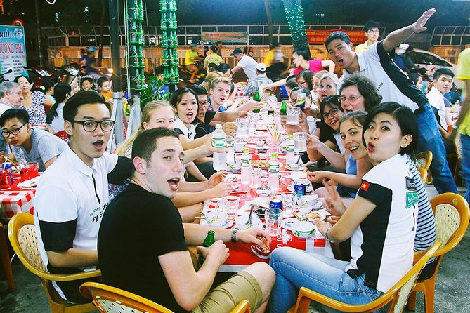 Private Tour: Saigon Nightlife with Music and Beer and Street Food By Motorbike