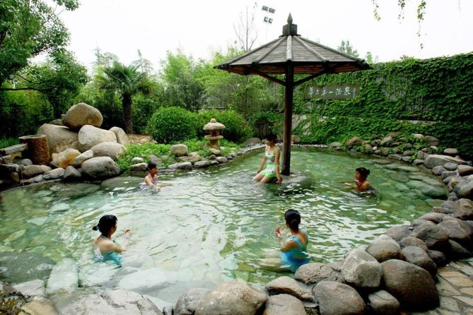 Hot Spring Experience with Hot Pot Dinner in Harbin