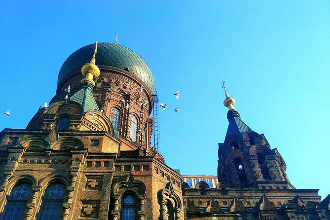 Half-Day Private Harbin City Walking Tour to Zhongyang Street and Sophia Church