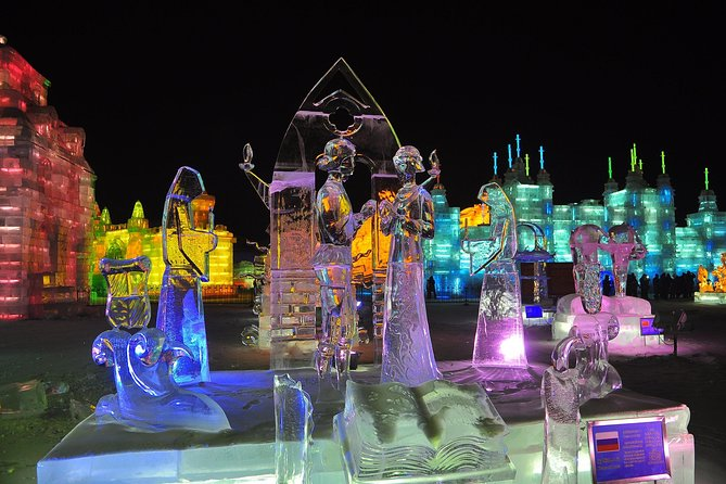 Shared Transfer Service to Ice and Snow World, Sun Island Snow Festival