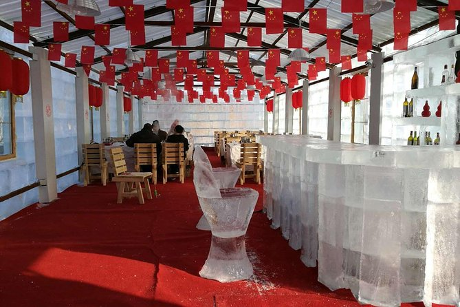 Harbin Ice House Hot Pot Experience with Private Customized Half Day Tour
