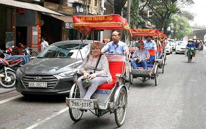 Destaque- Hanoi city tour e ciclo em torno do bairro antigo