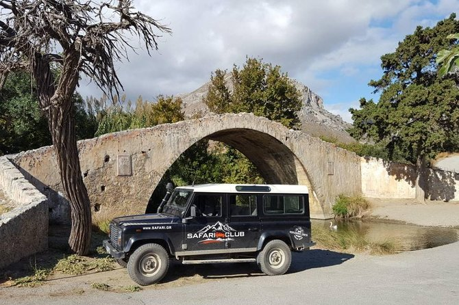 Full-Day Land Rover Safari from Rethymno with Lunch and Swimming