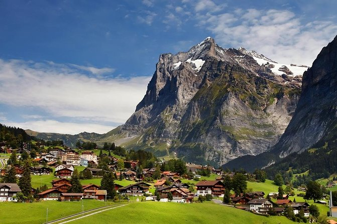 Interlaken Grindelwald no Bernese Oberland saindo de Zurique